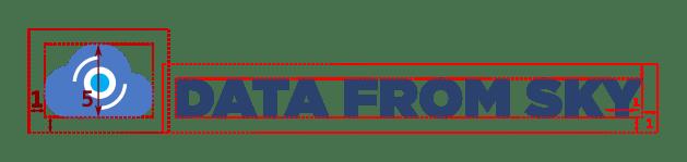 DataFromSky logo margin rules