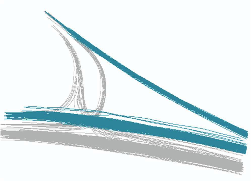 Road design validation, Portegrandi T-intersection