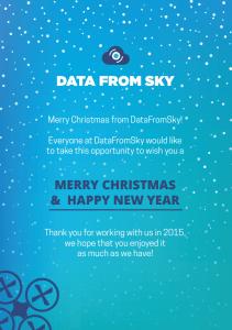 Merry Christmas from DataFromSky!