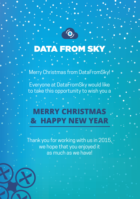 Merry Christmas from DataFromSky!