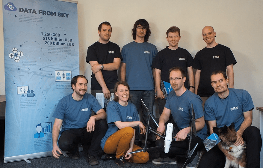 DataFromSky team photo