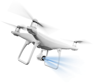 animace dron