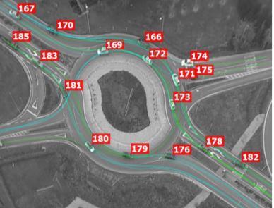 Automatic vehicle trajectory